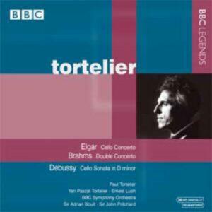 Paul Tortelier : Elgar, Brahms, Debussy.