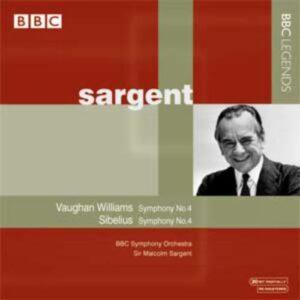 Vaughan : Symphonie n° 4. Sargent.