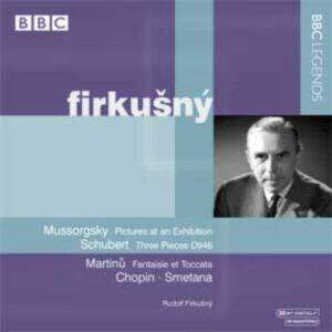 Rudolph Firkusny : Schubert, Moussorgsky, Martinu