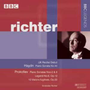 Prokofiev : Sonates pour piano n° 2. Richter.