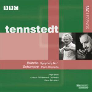 Brahms : Symphonie n° 1. Schumann : Conc piano. Bolet, Tennstedt.