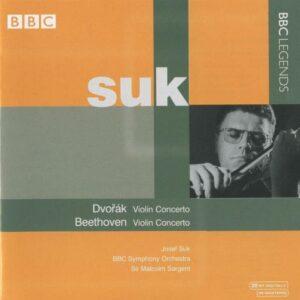 Dvorák/Beethoven : Concerto pour violon. Sargent.