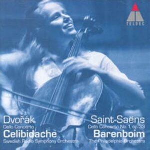 Saint-Saens/Dvorak : Concertos pour violoncelle