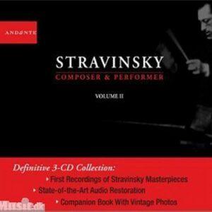 Stravinski - Compositeur, pianiste et Chef d'orchestre vol. 2 - livret 84 pages