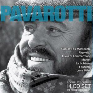 Bellini/ Puccini/ Massenet : Legendary Performances of Pavarotti