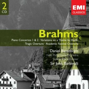 Brahms : Piano Concertos Nos. 1 & 2, Haydn Variations, Tragic Overture, Academic