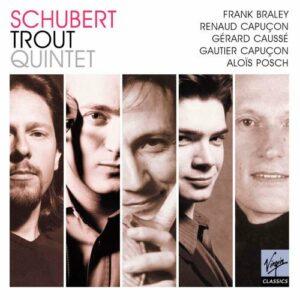 Schubert : Quintette la Truite. R. et G. Capuçon, Caussé, Posch, Braley.