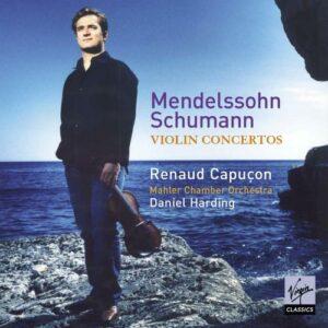 Schumann, Mendelssohn : Concertos pour violon. R. Capuçon, Harding.