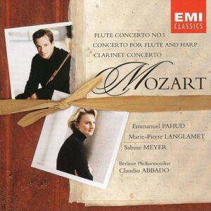 Mozart : Concerto pour flûte n°1 / Concerto pour flûte et harpe / Concerto pour...