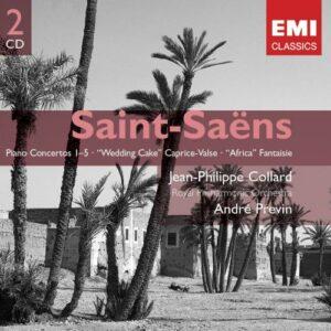 Saint-Saëns : Piano Concertos 1-5, Wedding Cake Caprice-Valse