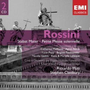 Rossini : Stabat Mater, Petite Messe Solennelle