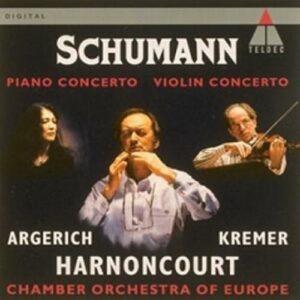 Schumann : Concerto pour piano / Concerto pour violon
