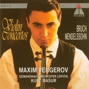 Mendelssohn/Bruch : Concertos pour violon