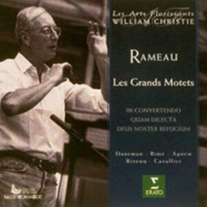 Rameau - Les Grands Motets / Daneman, Rime, Agnew, Rivenq, Cavallier, Les Arts