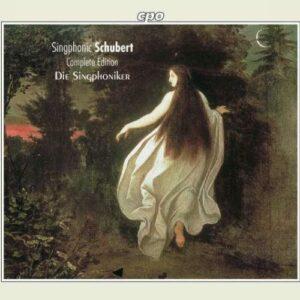 Schubert : Les œuvres pour voix d'hommes, vol. 1-5. Die Singphoniker