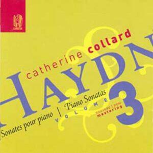 Haydn : Sonates pour piano vol.3. Collard