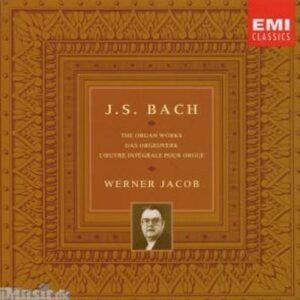 Bach J.S. : L'Intégrale des œuvres pour orgue