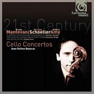 Mantovani, Schoeller, Amy : Concertos. Queyras, Amy.