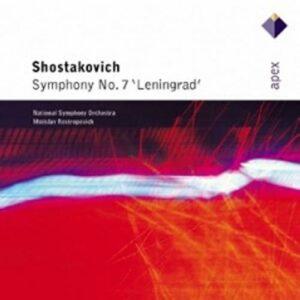 Chostakovitch : Symphonie n° 7. Rostropovitch