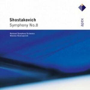 Chostakovitch : Symphonie n° 8. Rostropovitch