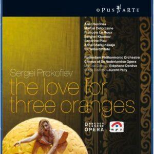 Sergei Prokofiev : The love for three oranges