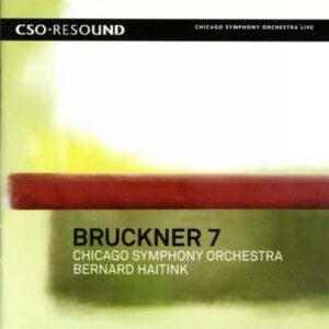 Bruckner : Symphonie no 7. Haitink