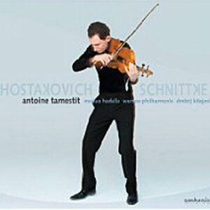 Schnittke : Concerto pour violon et orchestre. Tamestit, Kitajenko.