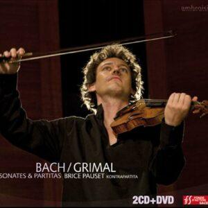 Bach : Sonates et partitas pour violon seul. Grimal.