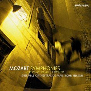 Mozart : Symphonies n° 31, 39, 40, 41. Nelson.