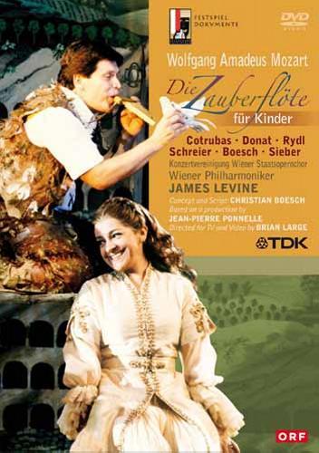 Mozart : La flûte enchantée pour les enfants. Levine