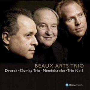Mendelssohn : Trio No. 1, Dvorák : Dumky Trio