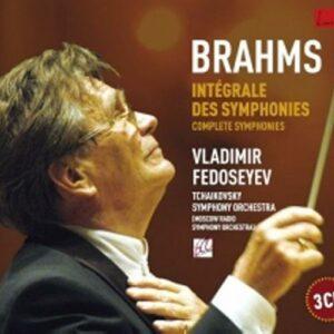 Brahms : Symphonies intégrale. Fedosseiev.