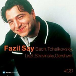 Say Fazil : Fazil Say joue Bach, Tchaikovski, Liszt, Stravinski, Gershwin (Coffret 4 CD...