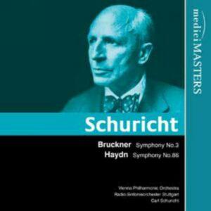 Bruckner/Haydn : Symphonies. Schuricht.