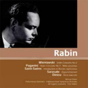 Rabin : Wieniawski, Paganini, Saint-Saëns.