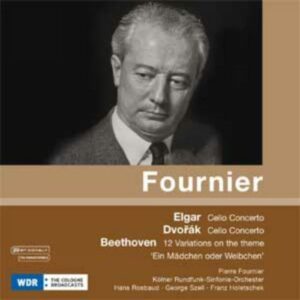 Elgar / Dvorak / Beethoven : Concerto pour violoncelle. Fournier.