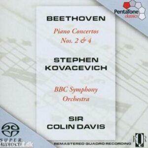 Beethoven : Piano Concertos No. 2 & 4