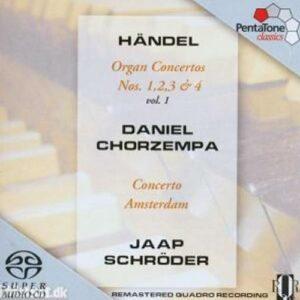 Haendel : Organ Concertos, Vol. 1