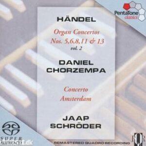 Haendel : Organ Concertos, Vol. 2