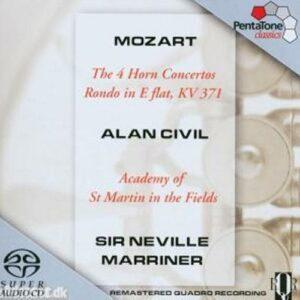 Mozart : The 4 Horn Concertos, Rondo in E flat
