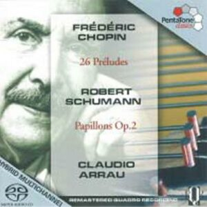 Chopin : Les préludes. Arrau.