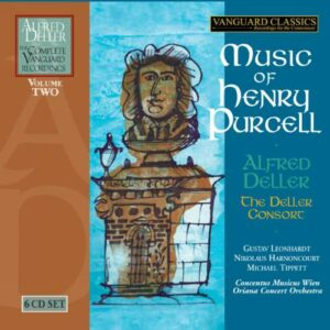 Alfred Deller : Musique de Purcell. Leonhardt, Harnoncourt, Tippett, Marriner.