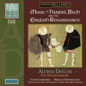 Alfred Deller, contre-ténor : Intégrale des enregistrements Vanguard - Volume 4