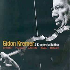 Gidon Kremer et Kremerata Baltica : Schubert, Schnittke.