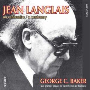 Langlais : Prélude Grégorien op. 205. Baker