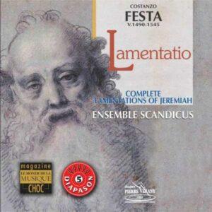 Festa : IX Lamentationes Hieremiae Prophetae. Scandicus