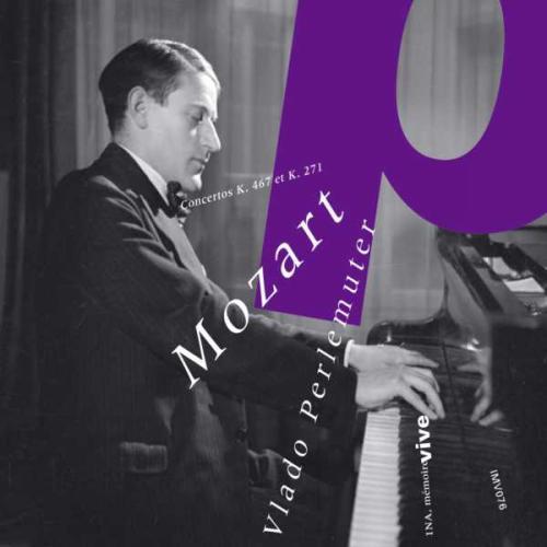 Mozart : Concertos pour piano n° 9 et 21. Perlemuter.