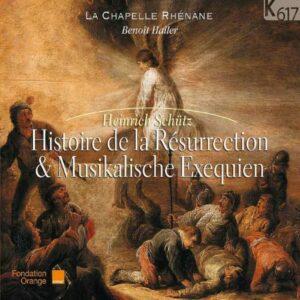 Schütz : Histoire de la Résurrection. Haller.