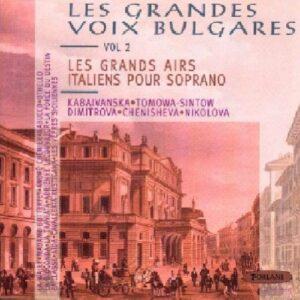 Les Grands Airs Italiens Soprano : Catalani, Giordano, Verdi, Puccini