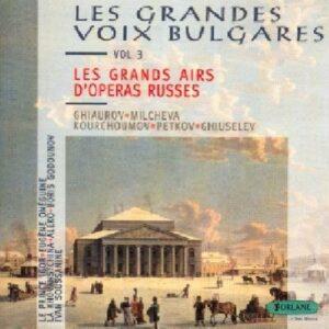 Les Grands Airs D'Operas Russes : Borodine, Glinka, Moussorgsky, Tchaikovsky